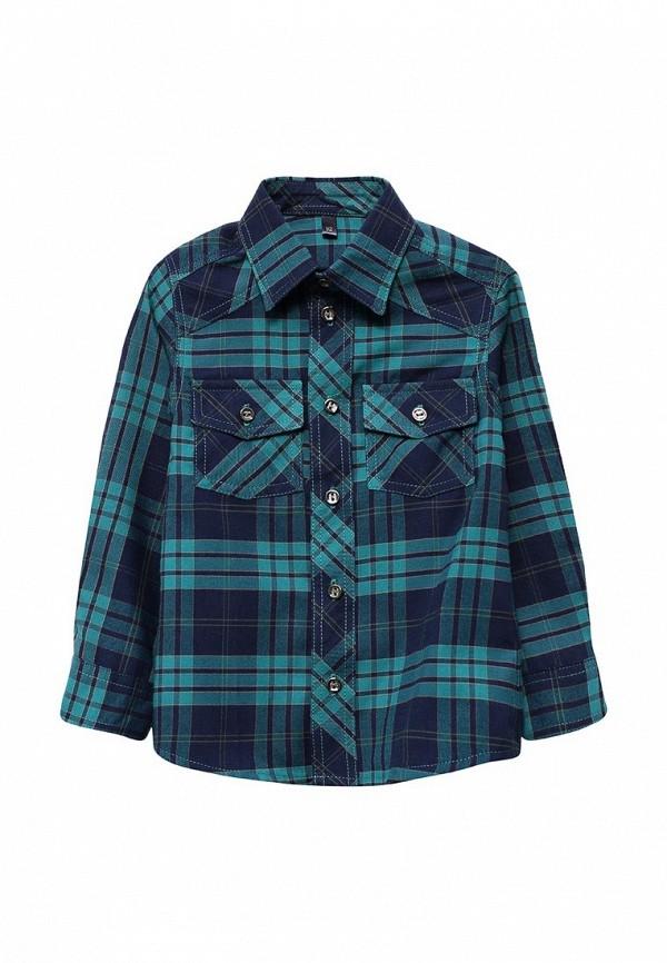 рубашка fleur de vie для мальчика, синяя