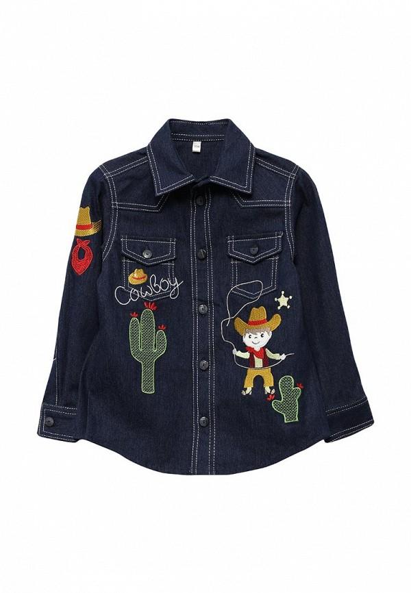 Рубашка джинсовая Fleur de Vie Fleur de Vie MP002XB001JB кольца de fleur 27018s2