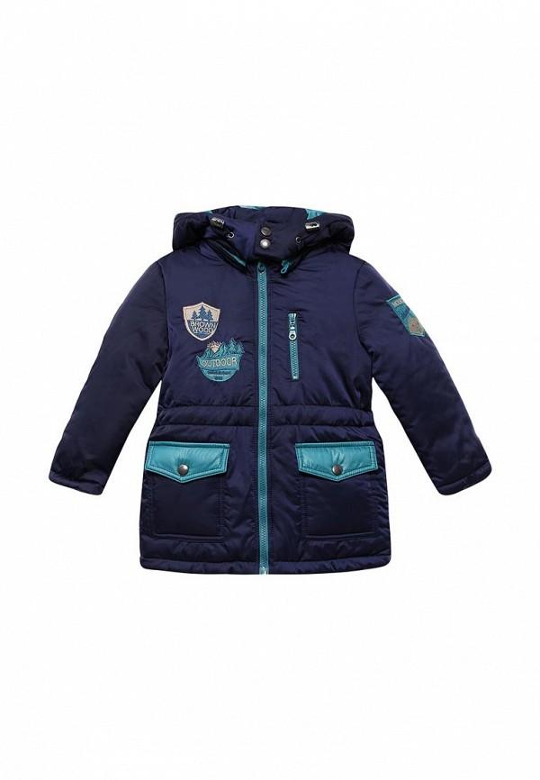 куртка fleur de vie для мальчика, синяя