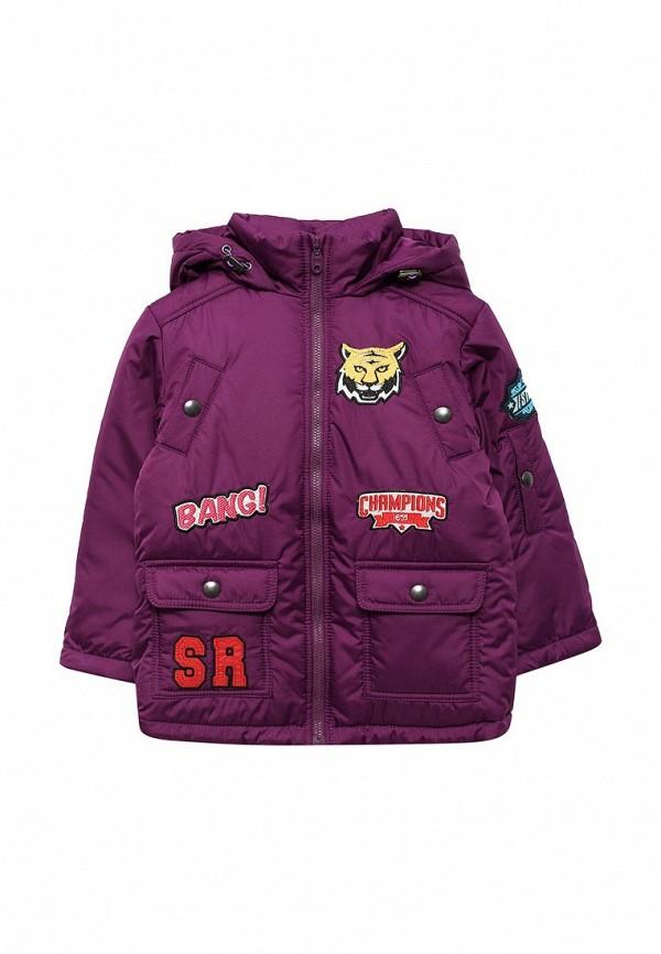 куртка fleur de vie для мальчика, фиолетовая