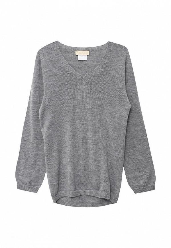 пуловер r&i для мальчика, серый