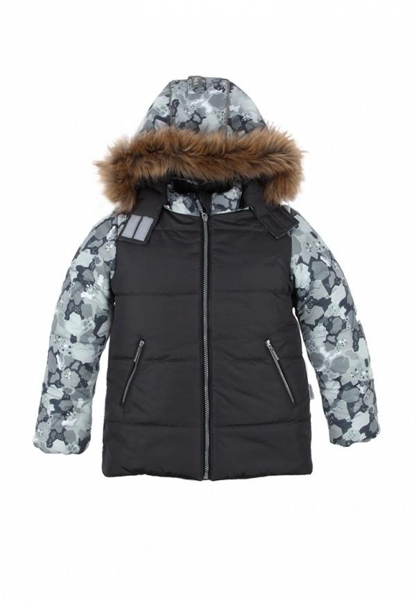 куртка zukka для мальчика, серая