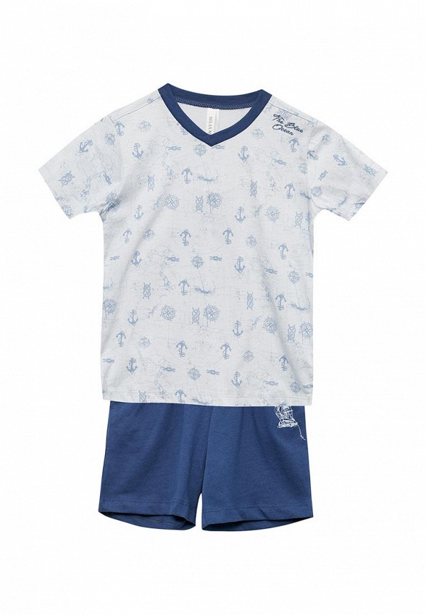 пижама relax mode для мальчика, разноцветная