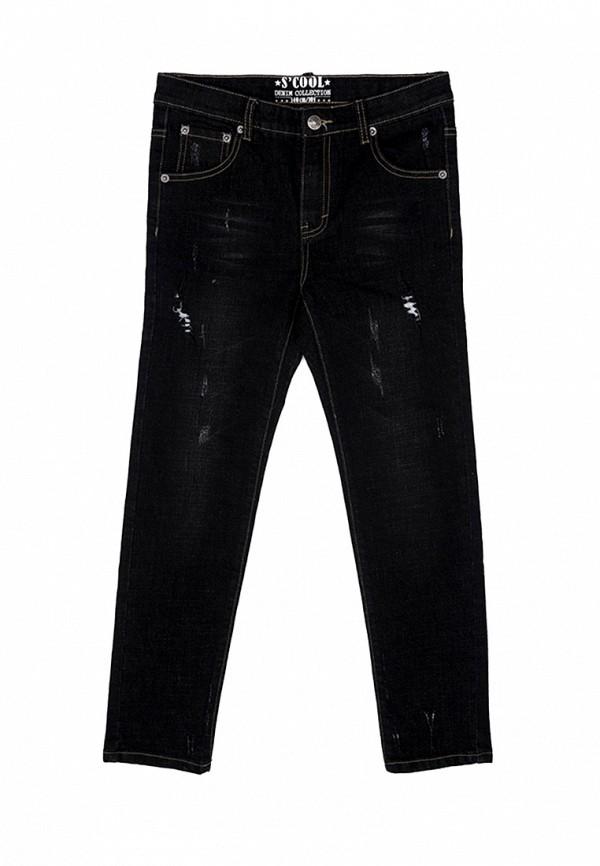 джинсы s'cool для мальчика, черные