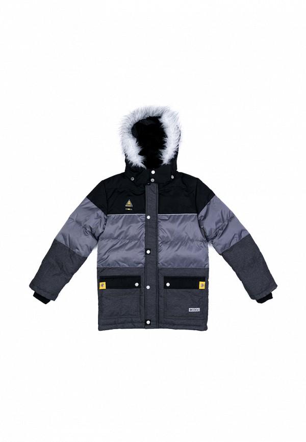 куртка s'cool для мальчика, серая