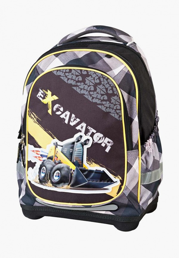 рюкзак target для мальчика, серый