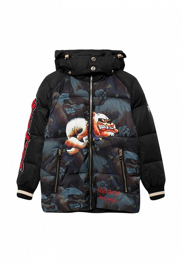 Купить Куртка утепленная Radrada, MP002XB002RR, черный, Осень-зима 2017/2018