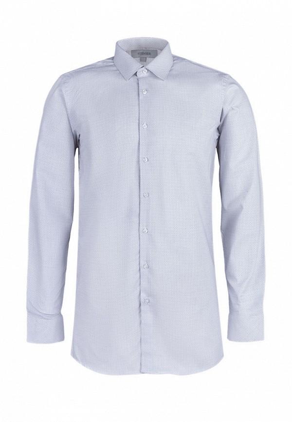 рубашка stenser для мальчика, серая