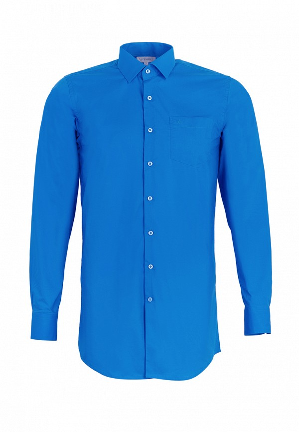 рубашка stenser для мальчика, синяя