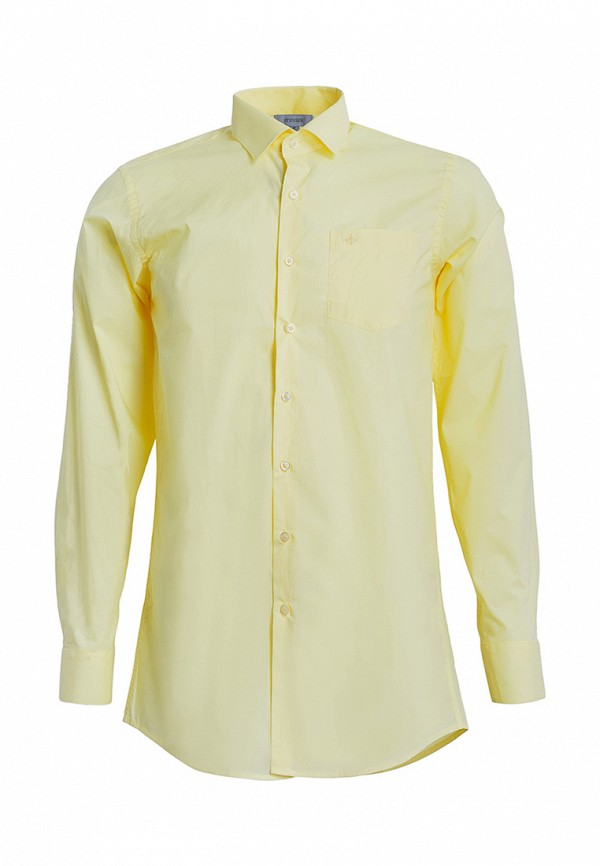 рубашка stenser для мальчика, желтая