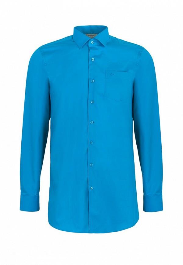 рубашка stenser для мальчика, бирюзовая