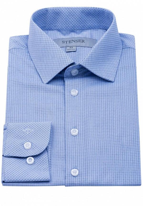 Рубашка для мальчика Stenser цвет голубой  Фото 5