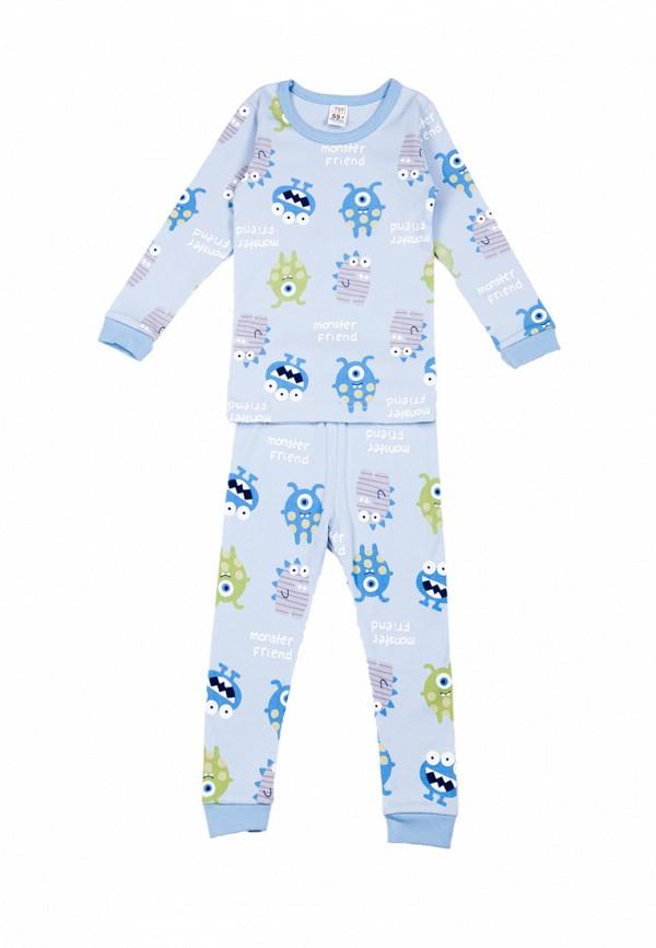 пижама tokki для мальчика, голубая