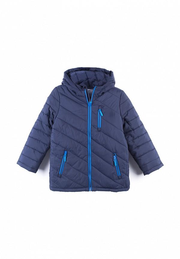 Фото - Куртку утепленная Coccodrillo синего цвета