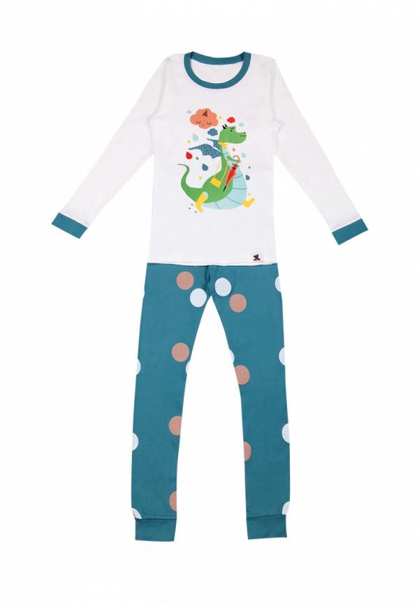 пижама tokki для мальчика, синяя