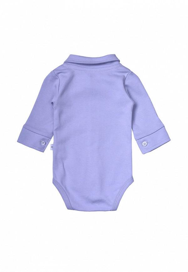 Фото 4 - Боди Фламинго текстиль фиолетового цвета