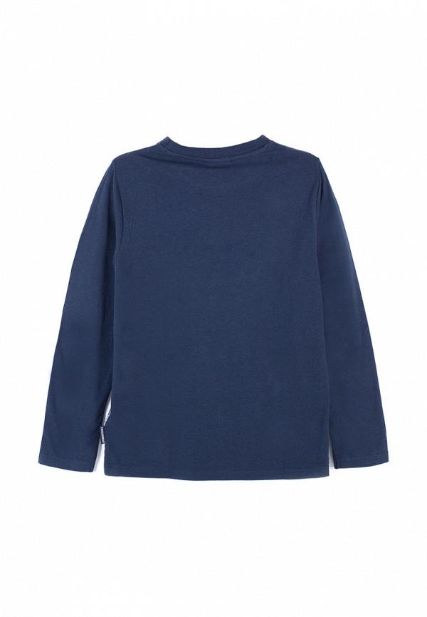 Лонгслив для мальчика Coccodrillo цвет синий  Фото 2