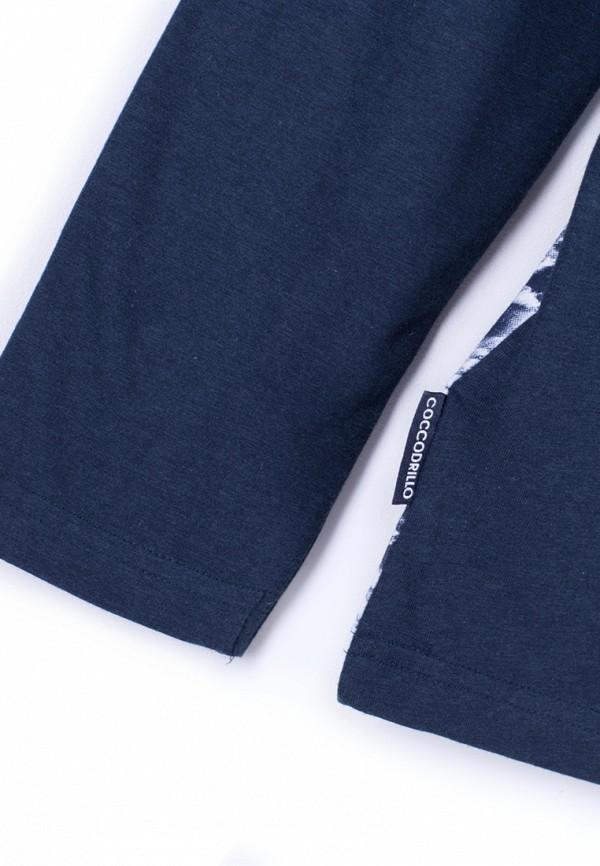 Лонгслив для мальчика Coccodrillo цвет синий  Фото 6