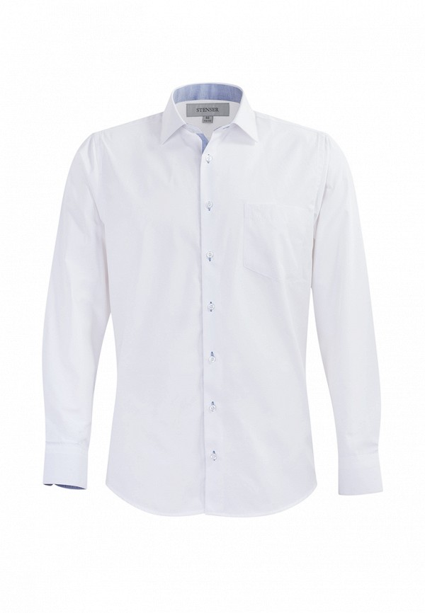 Купить Рубашка Stenser, MP002XB003SO, белый, Весна-лето 2018