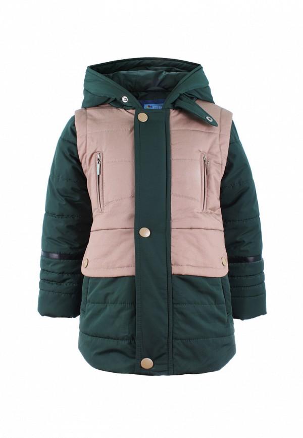 куртка irby style для мальчика, зеленая