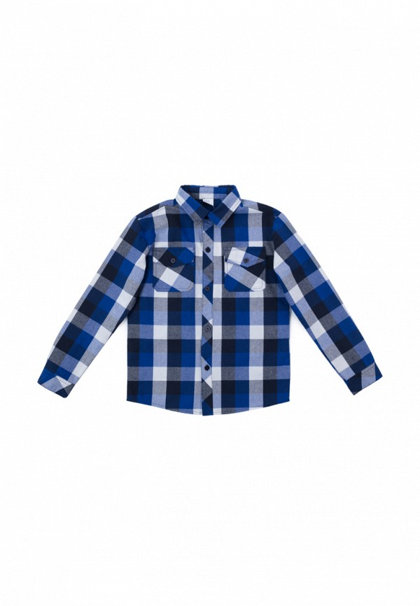 рубашка playtoday для мальчика, синяя