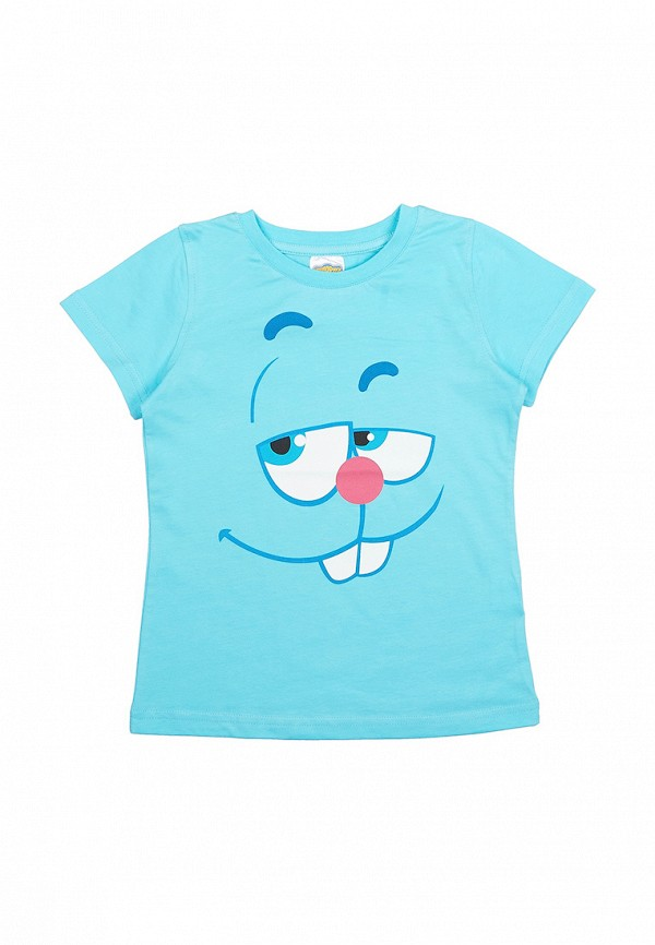 футболка с коротким рукавом frutto rosso для мальчика, голубая
