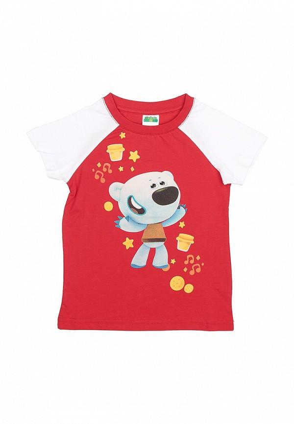 футболка с коротким рукавом frutto rosso для мальчика, красная