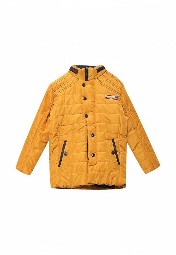 куртка mes ami для мальчика, желтая