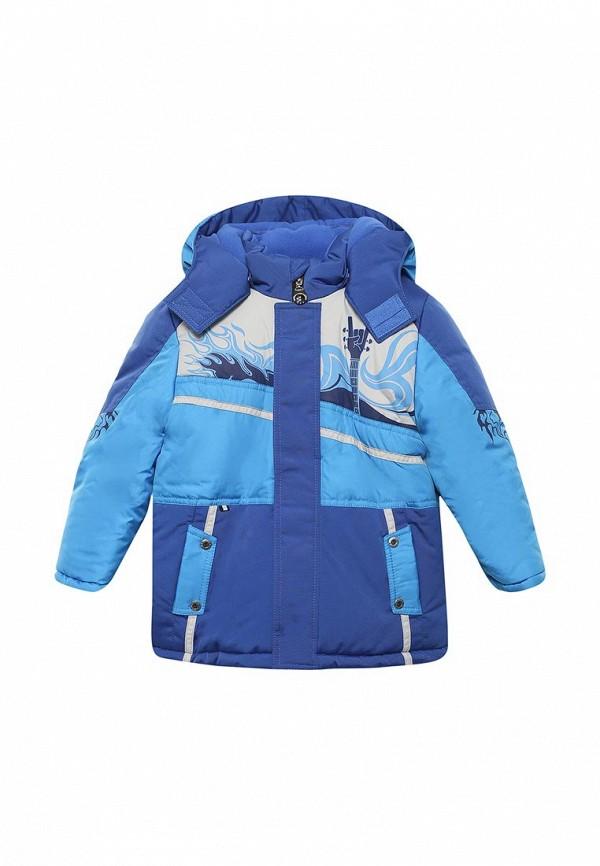 куртка ovas для мальчика, синяя