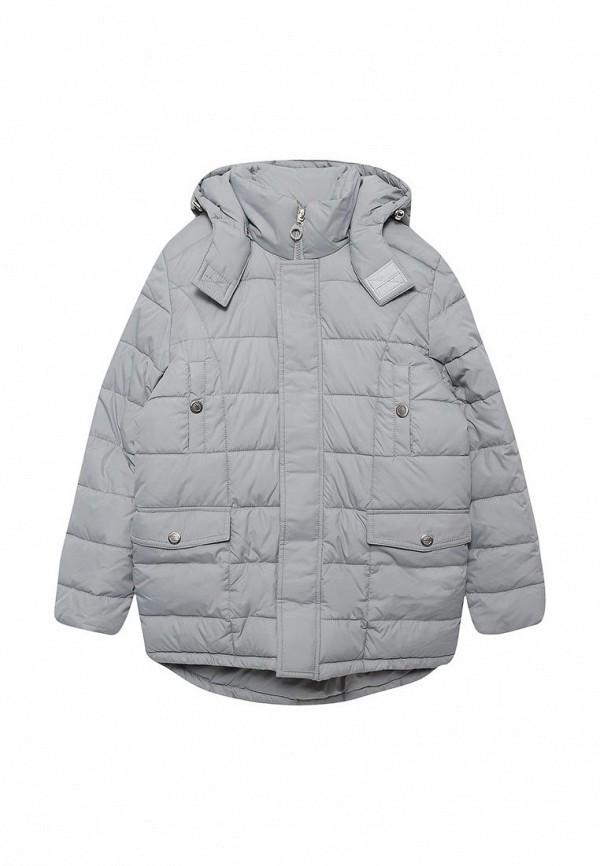 куртка ovas для мальчика, серая