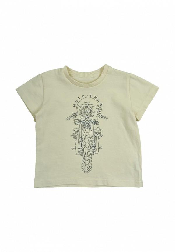 футболка с коротким рукавом robinzon для мальчика, бежевая