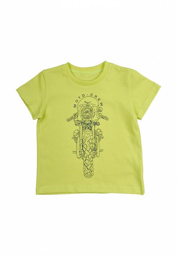 футболка с коротким рукавом robinzon для мальчика, зеленая