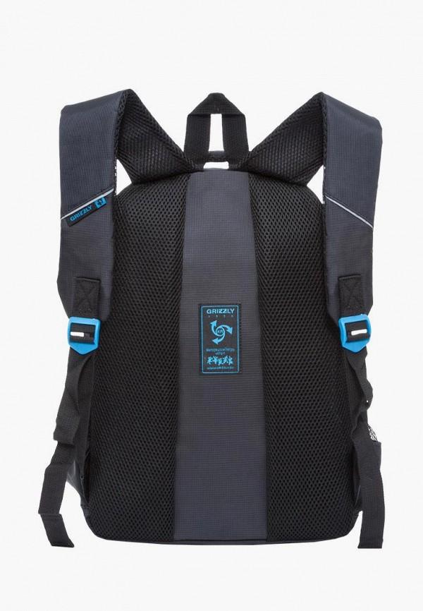 Рюкзак детский Grizzly цвет черный  Фото 3