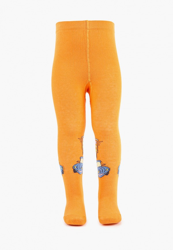 колготки брестские для мальчика, оранжевые