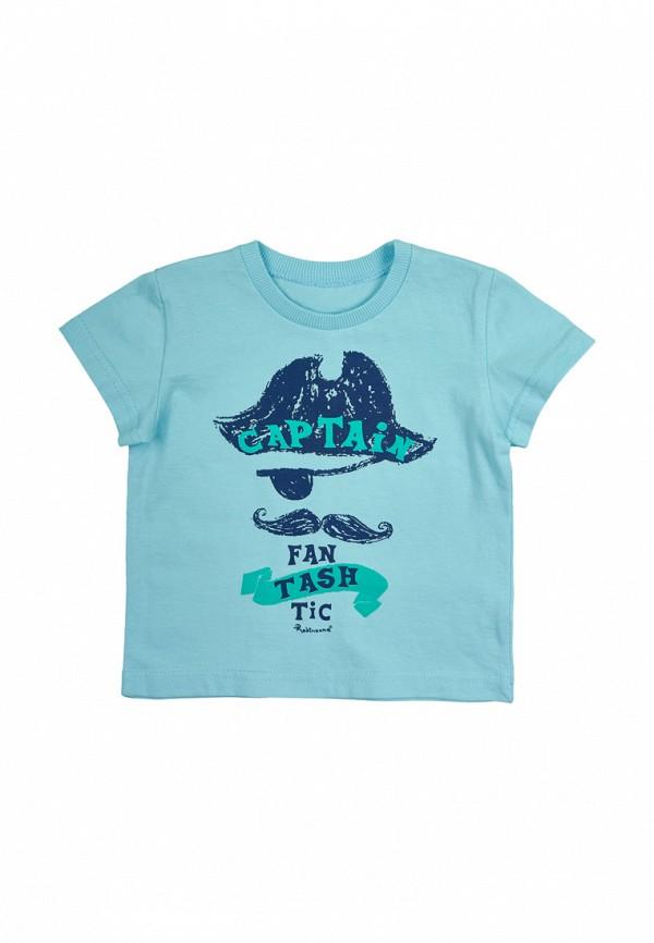 футболка robinzon для мальчика, голубая