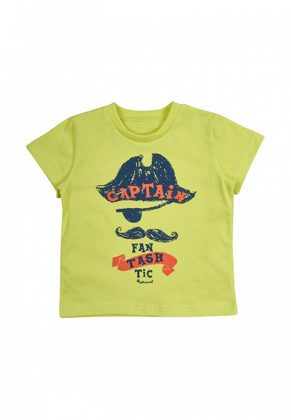 футболка robinzon для мальчика, зеленая