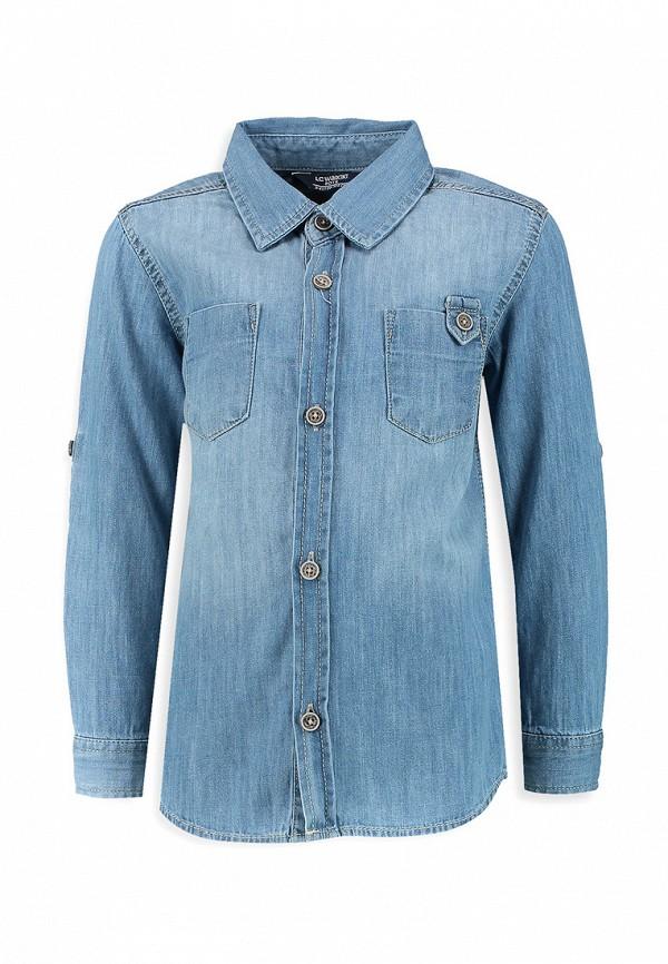 Рубашка джинсовая LC Waikiki LC Waikiki MP002XB0052L куртка джинсовая lc waikiki lc waikiki mp002xm0ygb6