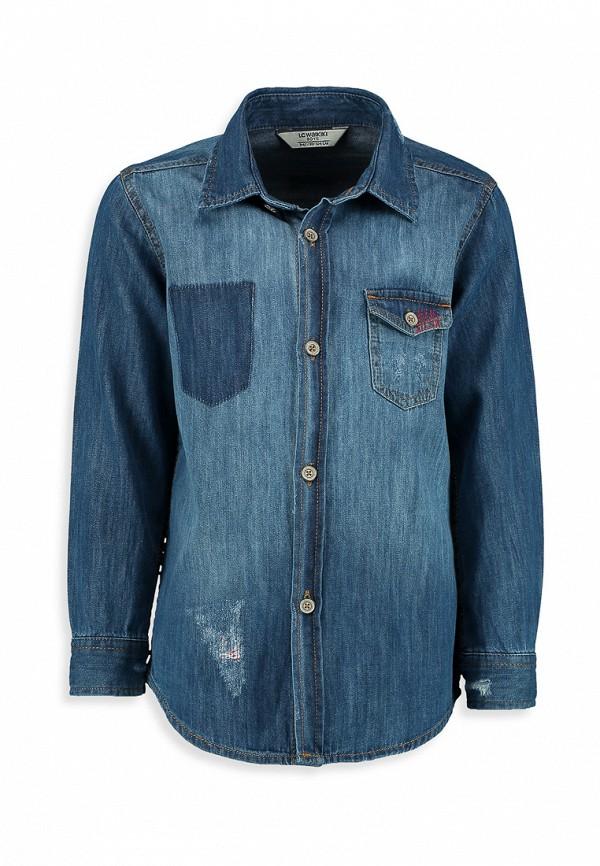 Рубашка джинсовая LC Waikiki LC Waikiki MP002XB0052P куртка джинсовая lc waikiki lc waikiki mp002xm0ygb6