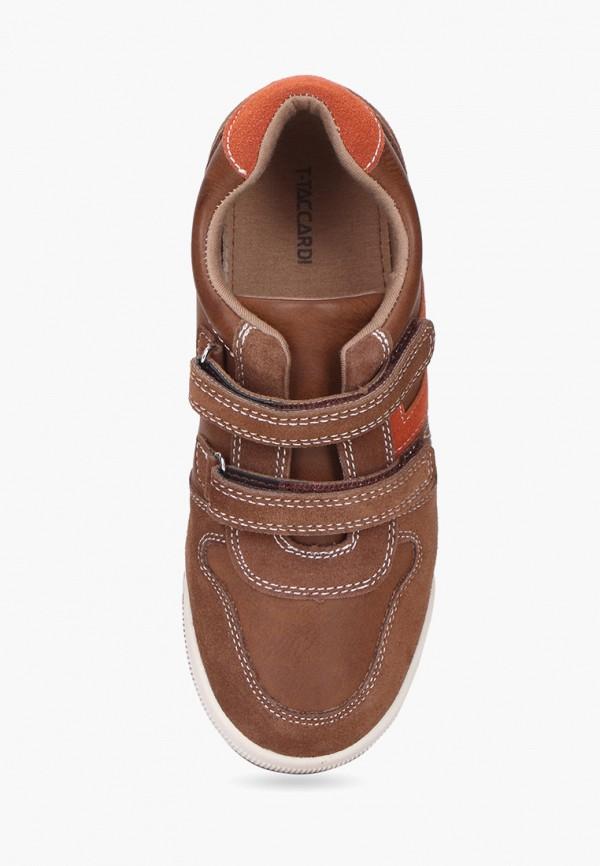 Кроссовки для мальчика T.Taccardi цвет коричневый  Фото 4