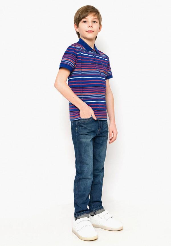 Поло для мальчика Finn Flare цвет синий  Фото 2