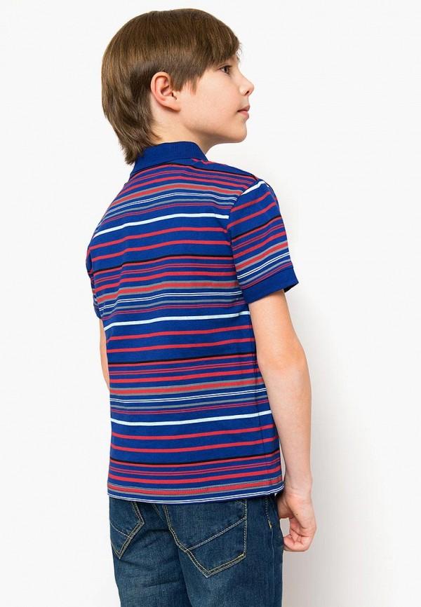 Поло для мальчика Finn Flare цвет синий  Фото 5