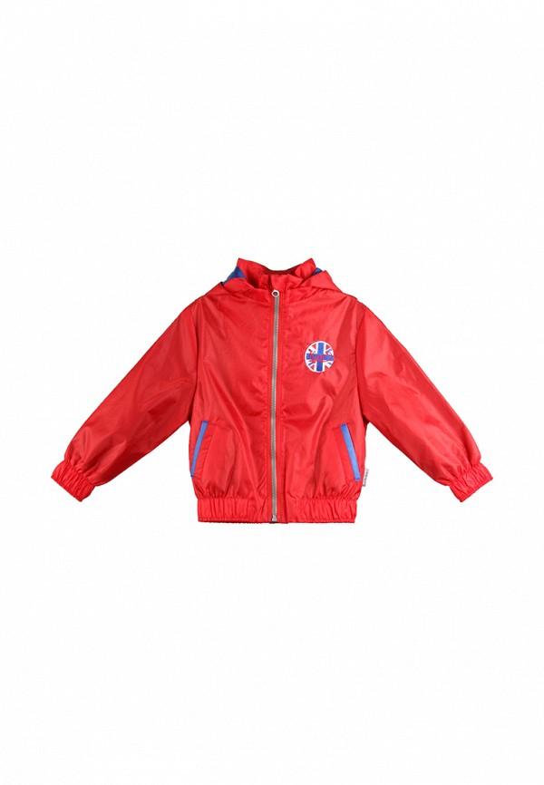 куртка kat для мальчика, красная
