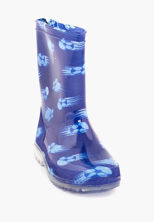 Резиновые сапоги Coccodrillo цвет синий  Фото 2