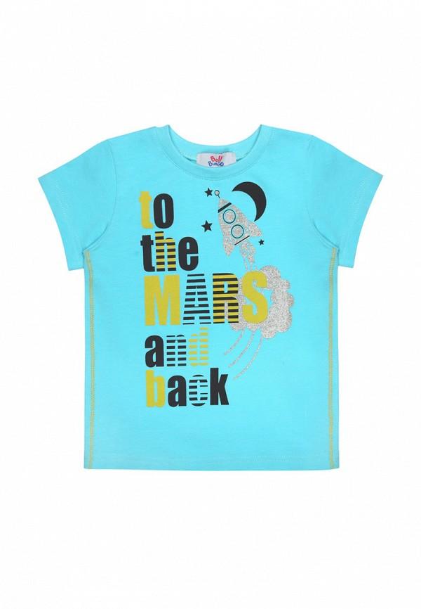 футболка с коротким рукавом bell bimbo для мальчика, бирюзовая