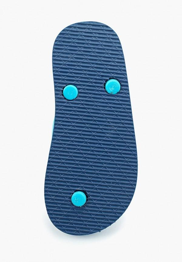 Сланцы детские Coccodrillo цвет бирюзовый  Фото 4