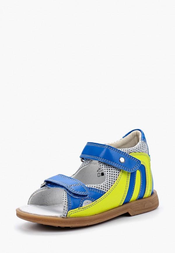 сандалии ortmann для мальчика, разноцветные