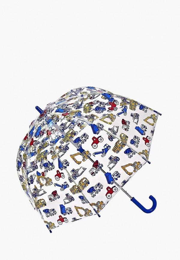 зонт-трости fulton для мальчика, разноцветный