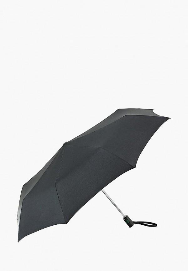 складные зонт fulton для мальчика, черный