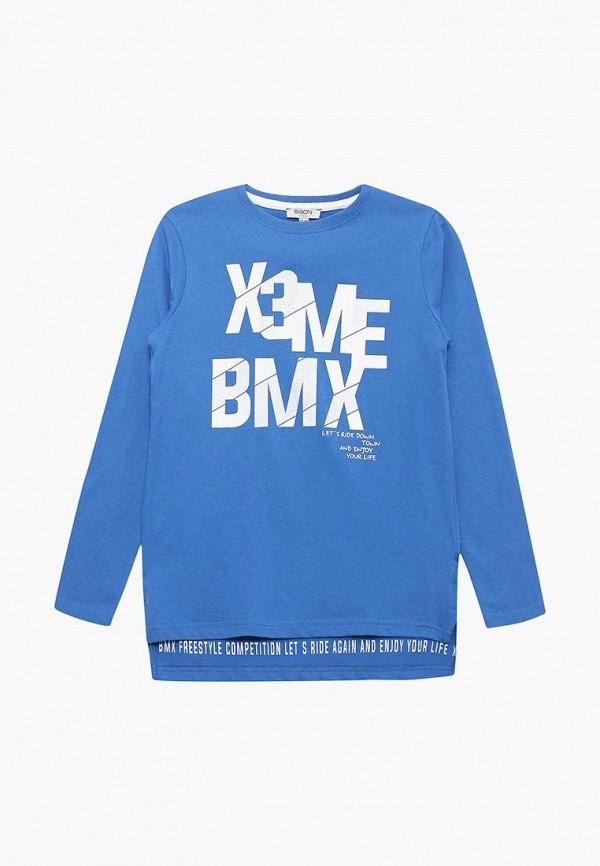 лонгслив baon для мальчика, синий