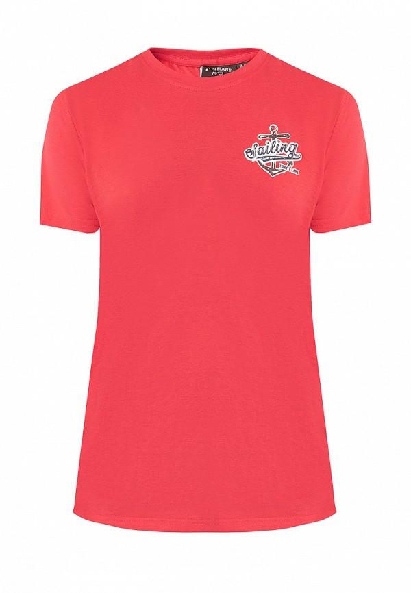 футболка finn flare для мальчика, красная